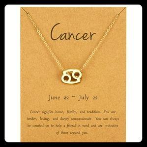 Jewelry - ♋Cancer Zodiac Sign Necklace ♋